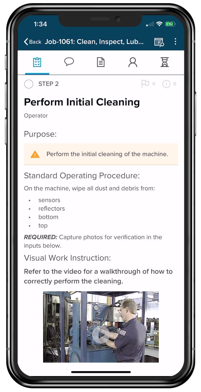 CIL Screenshot in iPhone